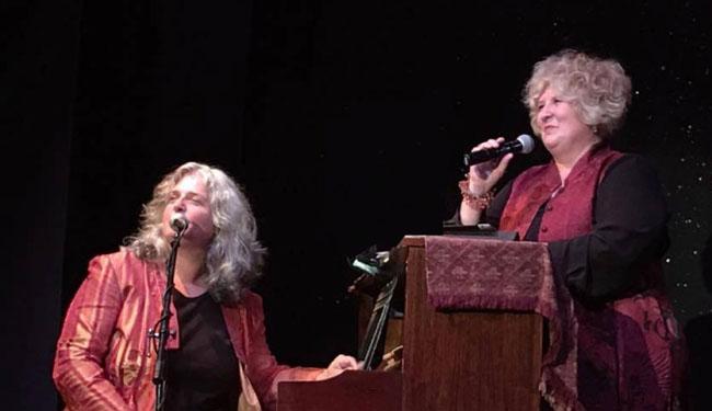 Diane Van Deurzen & Lisa Otey